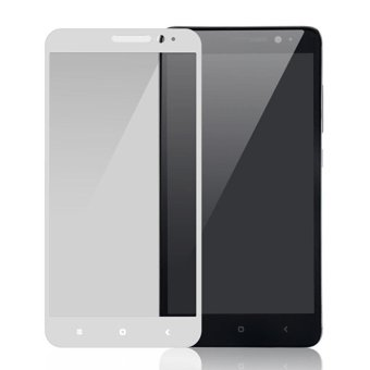 Harga 3D Full Cover Tempered Glass Warna Screen Protector for Xiaomi Redmi 3 Pro / 3s / 3x - Silver