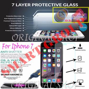 Harga Original Tempered Glass For iphone 7 with Bundle Picks