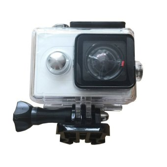 Harga Case Underwater Waterproof Anti Blur Case IPX68 40m Untuk Xiaomi Yi Sports Camera - Hitam