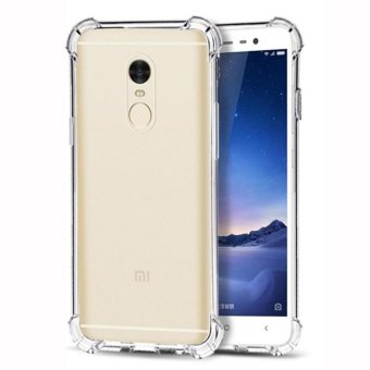 Harga Soft Back Case Anti Crack / Shockproof / Benturan Elegant Aircase Strong Softcase Ultrathin for Xiaomi Xioami Xiomi Redmi Note 4 - Clear