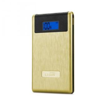 Harga Super Li-Ion Powerbank Polymax I 12000 Mah Real Power - Gold(Gold 10001-15000Mah)