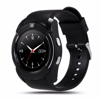 Harga KINwatch Polaris Smart Watch LCD Full Circle Smartwach V8 Support Android & IOs with Slot Sim Card and Tf Card