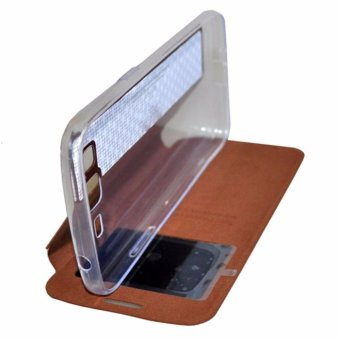 Harga Flip Cover/Book Cover/Flip Case/Leather Case for Samsung Galaxy V/V Plus