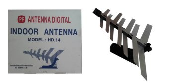 Harga Antenna TV Indoor PF HD 14 Digital