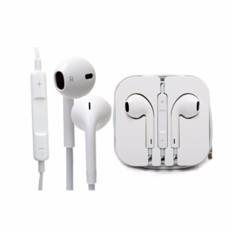 Harga Headset For Apple iPhone 5 /5C/5S - Putih