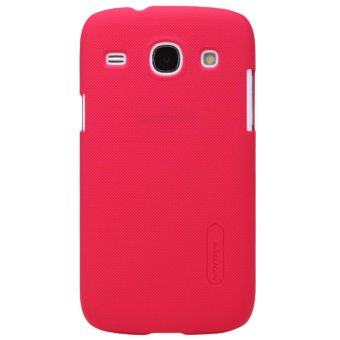 Nillkin Original Hard Case Frosted Case Samsung Galaxy Core (I8262) - Merah + Free