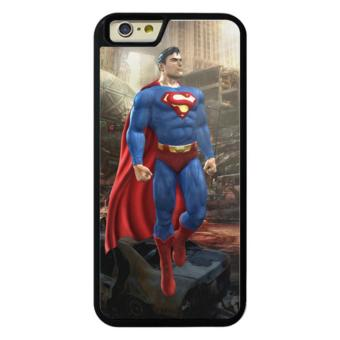 Harga Phone case for iPhone 6/6s Marve Superman cover for Apple iPhone 6 / 6s - intl