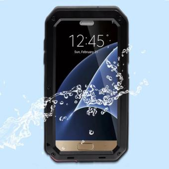 Quasivim Gorilla Tempered Glass Armor Case Cover For Samsung Galaxy S7 Edge - intl - 2