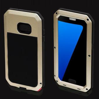 Quasivim Gorilla Tempered Glass Armor Case Cover For Samsung Galaxy S7 Edge - intl - 5