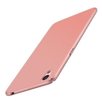 Baby Skin Hard Plastic Back Cover Case For OPPO A37 with HDScreen Protector - intl