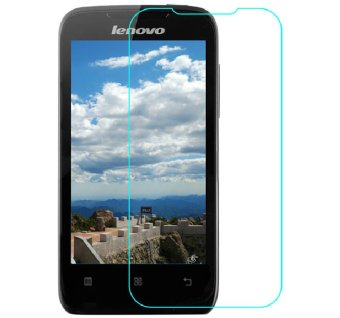Vn Tempered Glass 9H for Lenovo A369i 2D Round Curved Edge Screen Protector Film 0.33mm