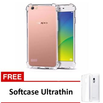 Case Anti Shock / Anti Crack Elegant Softcase for Oppo Neo 7 / A33 - Clear