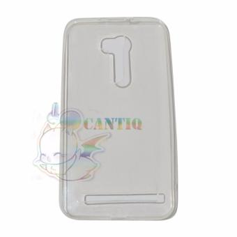 Harga QCF Ultrathin Untuk Asus Zenfone Go 2016 Ukuran 55 inch ZB551KL Jelly Air Back Case 0.3mm / Silicone Soft Case - Bening