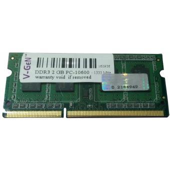 BINFUL asli merek baru DDR3 2 GB 1333 mHz PC3-10600 Memory RAMuntuk laptop 204pin - Internasional. RAM DDR3 SODimm V-GeN 2GB PC10600/1333Mhz - Memory Laptop ...