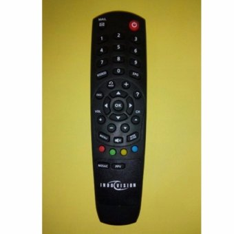 Harga Remote Parabola Indovision Digital Original - Hitam