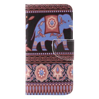 Premium Leather Source · Detail Gambar Moonmini Case for Samsung Galaxy Grand Prime .