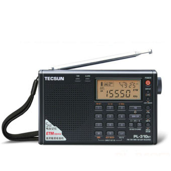 Harga Tecsun PL-310ET Full Band Radio Digital Demodulator FM/AM/SW/LW Stereo Radio (Black)