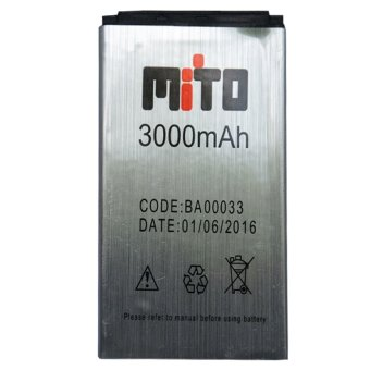 Harga Mito battery BA00033 (Mito Mini 111) - Silver