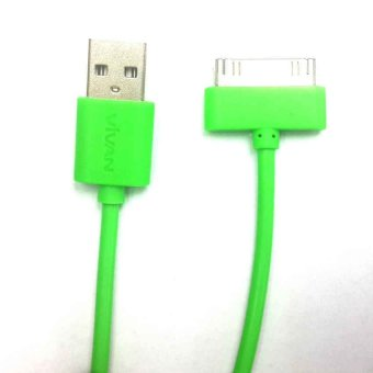 Harga Vivan Cable For iPhone4/iPad2/iPad3/iPad4 - Hijau