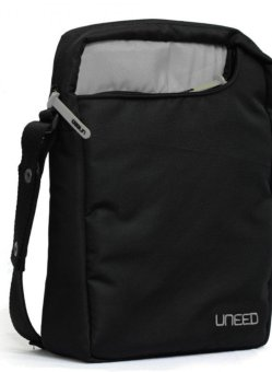 "Harga Uneed Combat Tas Slempang Messenger for Tablet /NetBook 10""- Hitam"