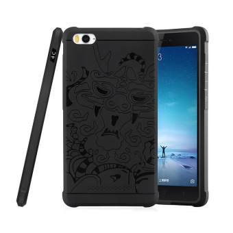 Harga Case TPU Phone Case Dragon Back Cover Original for Xiaomi Mi 4i / Mi 4c - Black