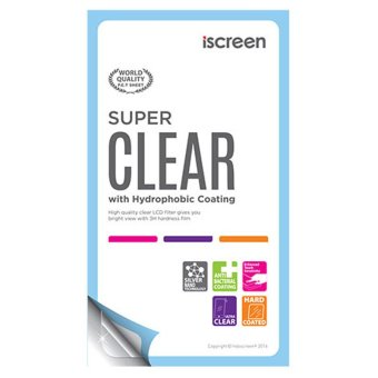 Harga indoScreen iScreen Anti Gores Blackberry 8520 Gemini - Clear
