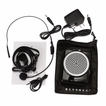 12W AKER MR1505 Portable Microphone Waistband Voice Booster Amplifier Speaker