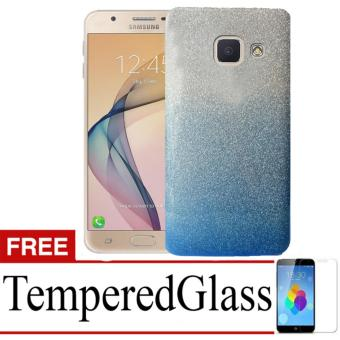 Harga Case Soft Embros 2Tone For SAMSUNG GALAXY J7 PRIME + Free TemperredGlass - Blue