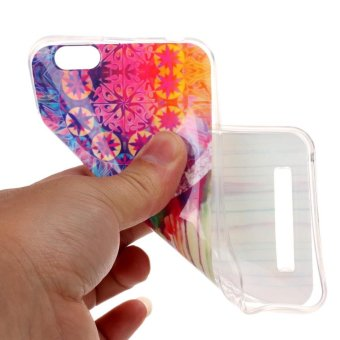 Detail Gambar Moonmini Case for Lenovo Vibe C A2020 Lightweight Soft Silicon Back Case - Decorative