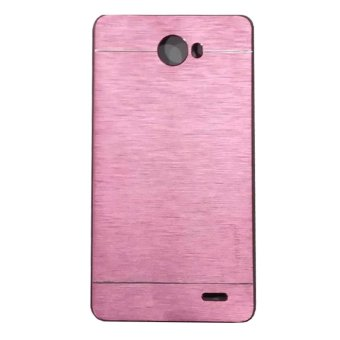 Harga Motomo For Infinix Hot Note 2 X600 Hardcase Backcase - Pink