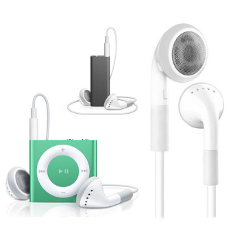 Harga Headphone dengan mikrofon untuk apple iPhone 6plus/5S/5/5C/4/4S/3GS/iPod - International