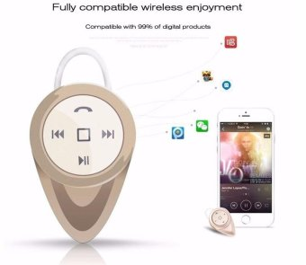 Merek Mini A9 Headphone Bluetooth Headphone Stealth Earphone In Ear V4 1 Headset .
