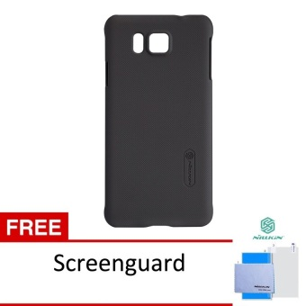 Nillkin Frosted Shield Samsung Galaxy Alpha (G850F) - Brown + Free Nillkin Screen Protector Clear