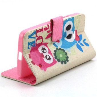 Horizontal Flip Wallet Leather Stand Case for Microsoft Lumia 640 (Multicolor)