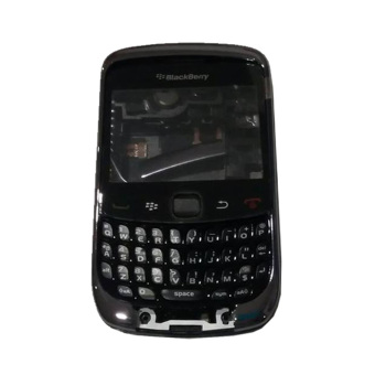 Harga BlackBerry Housing Gemini Curve 3G 9300 Fullset - Hitam