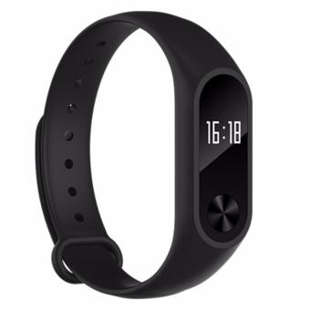 Bluetooth Smartband M2+ Smart Bracelet Heart Rate Monitor Health Fitness Tracker Waterproof Smart Band Wristband for Android iOS - intl