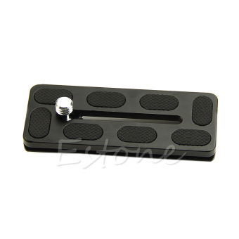 Harga Hot PU100 Quick Release Plate 100mm for Benro B1 J1 Arca Swiss Compatible PU100 - intl