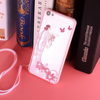 Transparent Back Case Cover Camellia. Source · Oppo A37 Rhinestone Soft Tpu .