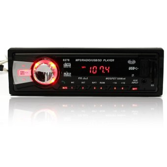 ... Mobil Stereo Bluetooth Audio 1 Din MP3 Pemutar Radio AM FM Aux Masukan USB Receiver SD
