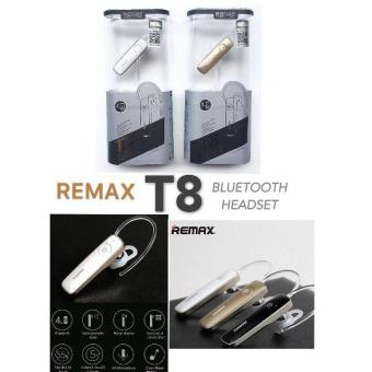 Harga Remax Earphone Bluetooth Headset Handsfree Wireless Rb-T8