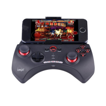 Harga iPega PG-9025 Bluetooth nirkabel Gamepad tuas kendali kontroler Game untuk iPhone & iPad Android PC