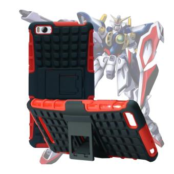 Harga Case for Xiaomi Mi 4i / Mi 4c Robotic Rugged Armor With Kickstand - Red