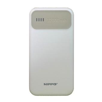 Hippo Power Bank Atlas 12000 mAh Simple Pack - Abu-Abu