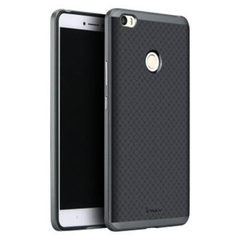 Fashion iPaky Hybird Silicone Back Cover Case For Xiaomi Mi Max (Grey) - intl