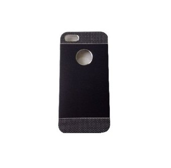 Harga Paroparoshop Dotted Metallic Case For Iphone 4/4s - Hitam