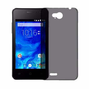Softcase Silicon Ultrathin for Smartfren Andromax Qi - Black Clear