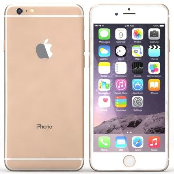 Refurbished Apple iPhone 6 Plus - 128Gb - Gold