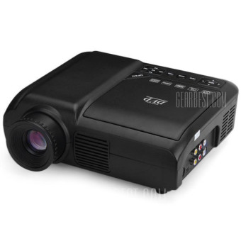 Harga EPL007 LCD Projector DVD Player 60 Lumens Multimedia Home Theater 320 x 240 Native Resolution EU - intl