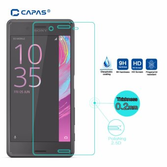 Harga CAPAS Tempered Glass for Sony Xperia X Performance Dual F8132 Screen Protector Glass Protective Film ExplosionProof - intl