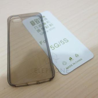 Harga Softcase Silicon Ultra-thin For iPhone 5G/5S
